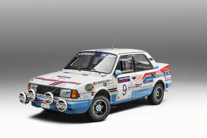 Skodas aller siste rallybil med bakhjulsdrift ble utviklet i 1984. (Fotos: Skoda)