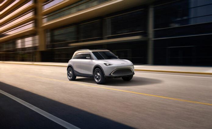 Smart versjon 2.0 nærmer seg nå, og merket viser den nye retningen med et konsept som skal være når den første elbilen som skal inn i produksjon. (Fotos: Smart)