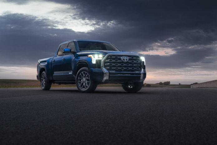 Toyota har nå klar 3. generasjon av Tundra, et beist av en pickup. (Fotos: Toyota)