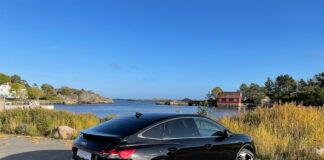 Vi har tatt Audi Q4 e-tron Sportback på en liten testtur. (Fotos: Nybiltester)
