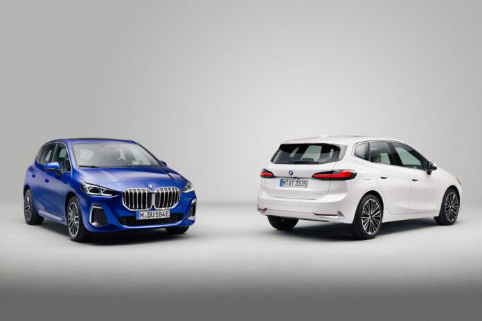 BMW har på gang en ny generasjon av 2-serie Active Tourer. (Fotos: BMW)