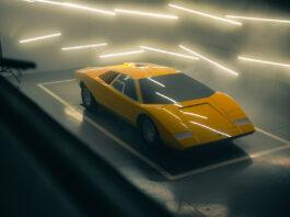 Lamborghini har laget en eksakt kopi av den første Countach, som endte sitt liv i krasjtester i 1974. (Fotos: Lamborghini)