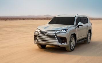 Lexus har klar en ny generasjon av LX. (Fotos: Lexus/Toyota)
