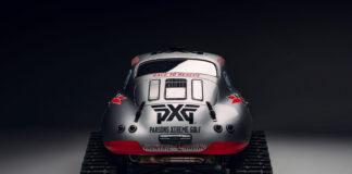 Har du sett på maken? En Porsche 356A fra 1956 med belter! (Fotos: Valkyrie Racing)