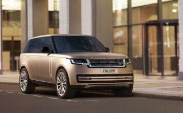 Det er klart for en splitter ny Range Rover, og den er ikke overraskende full av luksus. (Fotos: Jaguar Land Rover)